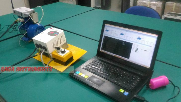 Online condition monitoring motor