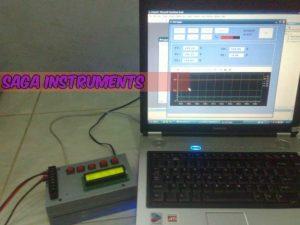 Temperatur oven data logger, thermocouple
