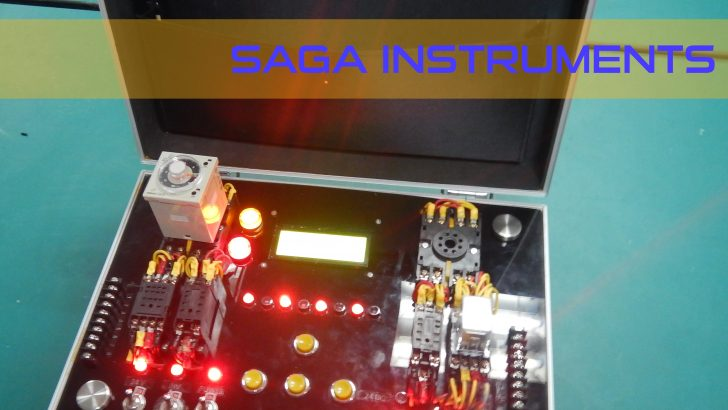 Alat test relay, timer, proximity, solenoid