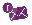 icon email ungu