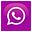 whatsapp icon ungu