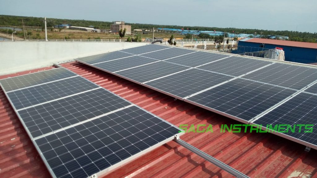 solar cell roof top