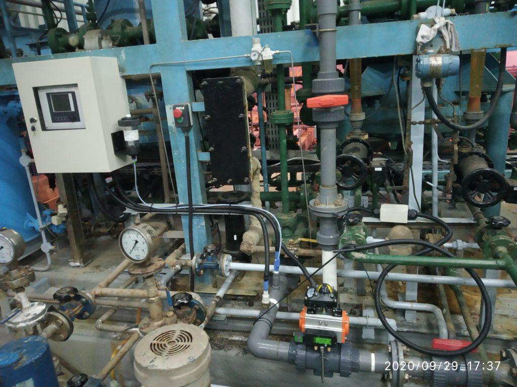 auto drain / recirculation