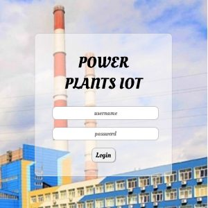 IOT FOR POWER PLANT