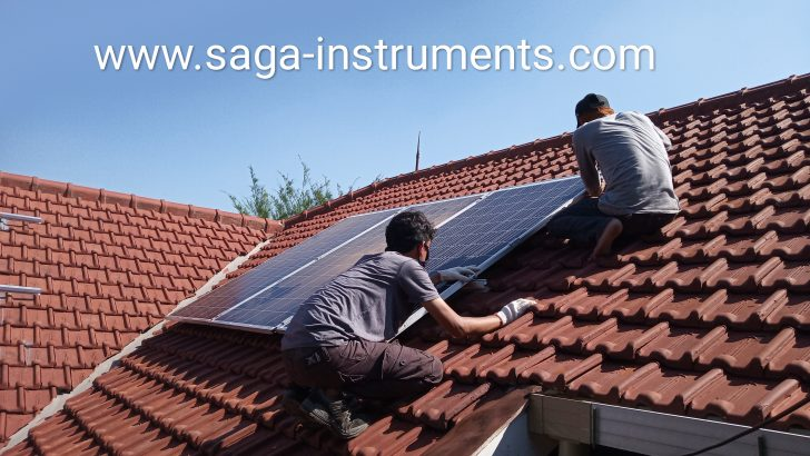 solar cell home system